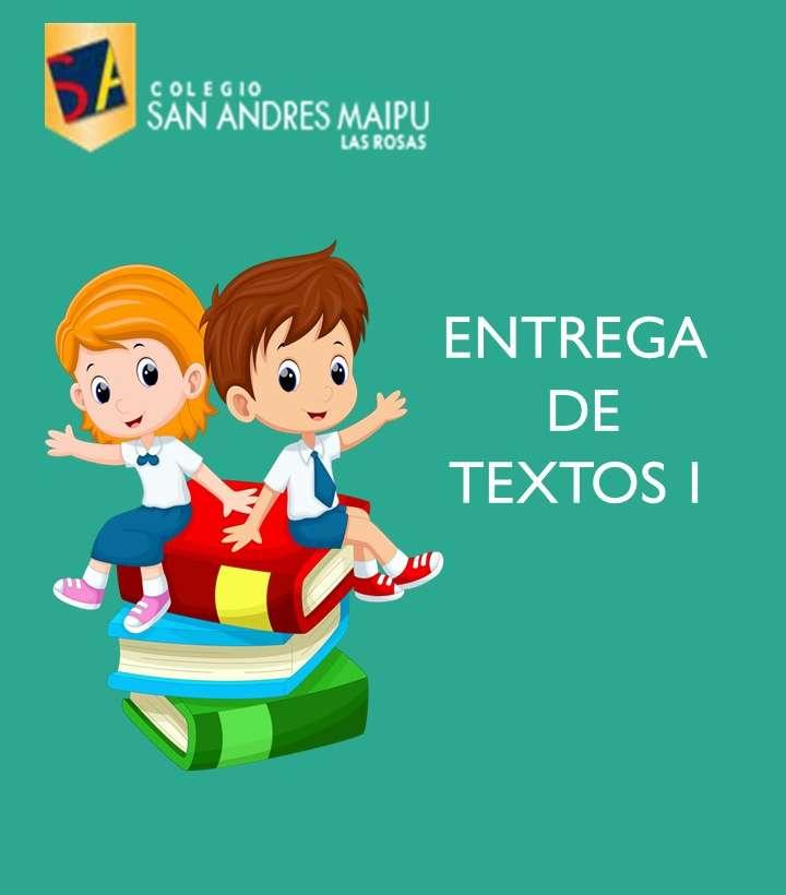 COMUNICADO ENTREGA DE TEXTOS PARTE 1
