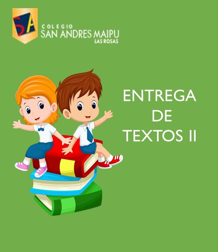 COMUNICADO ENTREGA DE TEXTOS PARTE 2