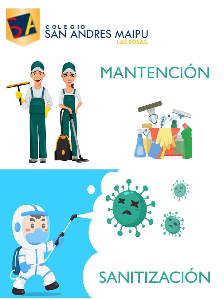 MANTENCIÓN Y SANITIZACIÓN DEL COLEGIO