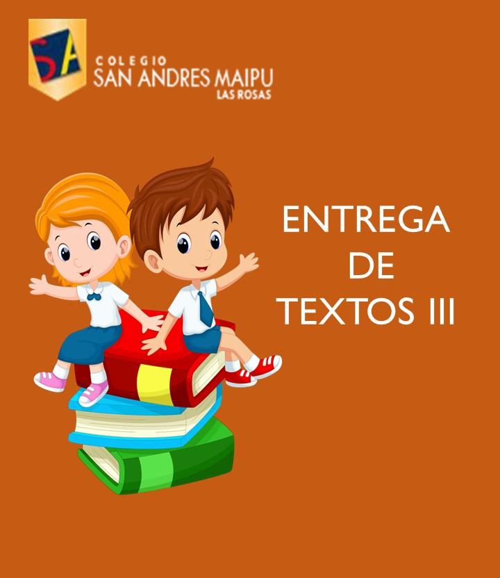 ENTREGA DE TEXTOS III