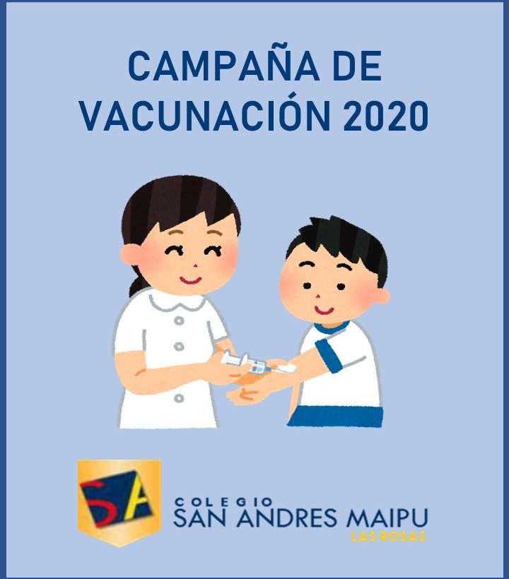 Campaña de vacunación 2020