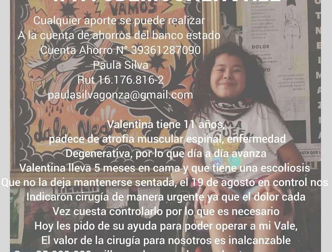 Campaña solidaria VALENTINA