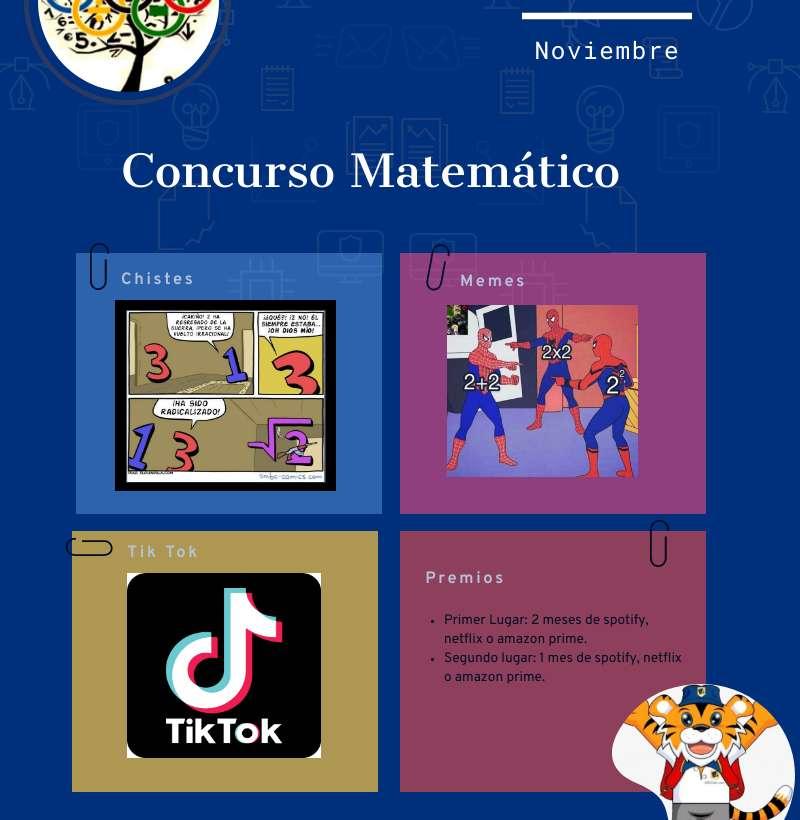 CONCURSO DEPARTAMENTO MATEMÁTICA